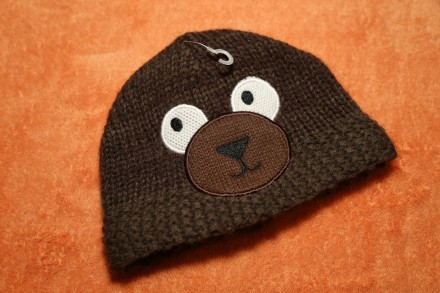 Демисезонная шапка, шапочка mothercare на мальчика 0-6 мес.. Днепр. фото 1