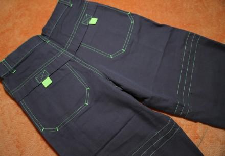 Продам стильные котоновые реперские штаны на мальчика 5-6 лет (р.110)  Новые, с. Днепр, Днепропетровская область. фото 3