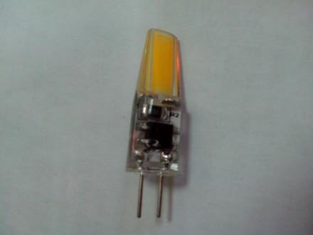Светодиодная LED лампа (галогенка) G 4  220 в  3,5 Вт. Купянск. фото 1