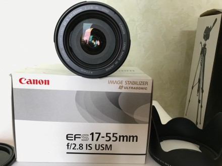 Продам Объектив Canon EF-S 17-55mm f/2.8 IS USM. Made in Japan.. Кропивницкий. фото 1