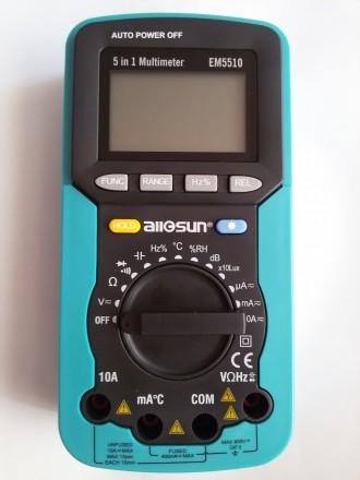 Універсальний цифровий мультиметр EM5510 5 в 1. Ивано-Франковск. фото 1