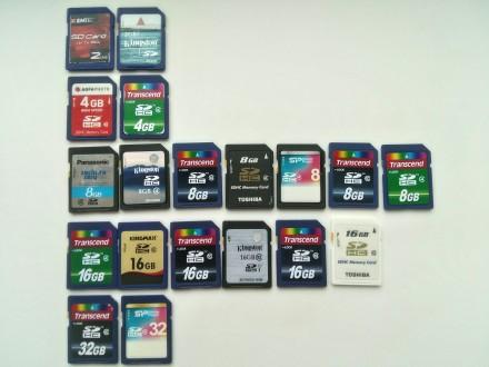 Продам карты памяти формата SD 8, 16, 32Gb. Одесса. фото 1