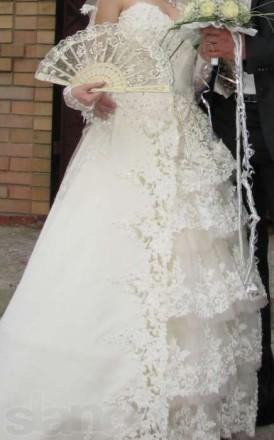 СРОЧНО!!! Продам шикарное свадебное платье. Днепр. фото 1