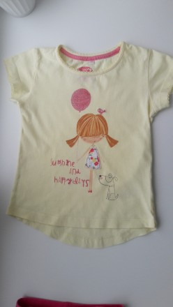Фирменная футболка на 4-6 лет. Київ. фото 1