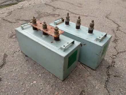 Коденсатор для компенсации реактивной мощности (20 кВар, 400 В). Донецк. фото 1