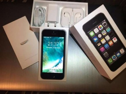 Iphone 5S 16gb Neverlock Space Gray. Николаев. фото 1