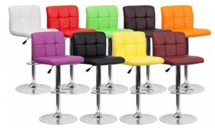 Барный стул HY-356-3 станет ярким элементом кухни в стиле лофт и хай-тек. Креати. Киев, Киевская область. фото 10