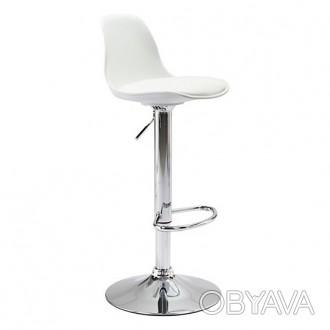 Удобный барный стул HY-128-7. Имеет регулировку по высоте сидушки 60-80см. и кру. Киев, Киевская область. фото 1