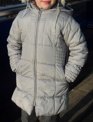 Зимнее пальто Marks & Spenser для девочки 9-10 лет. Киев. фото 1