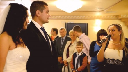 Ведущая и музыка на свадьбу. Киев. фото 1