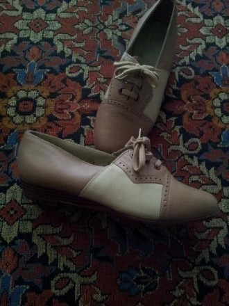 Кожаные туфли для девочки, размер 36. Ужгород. фото 1