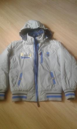 демисезонная курточка на мальчика, р.140. Чернигов. фото 1