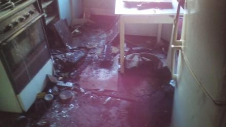 Уборка квартиры после пожара.Донецк. Донецк. фото 1