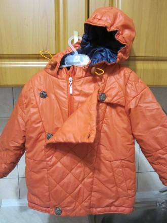 """ТМ """"Одягайко"""".Осенний комбинизон.Курточка на флисе.Штаны плащёвка.Курточка очень. Житомир, Житомирская область. фото 4"""