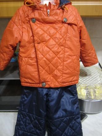 """ТМ """"Одягайко"""".Осенний комбинизон.Курточка на флисе.Штаны плащёвка.Курточка очень. Житомир, Житомирская область. фото 3"""