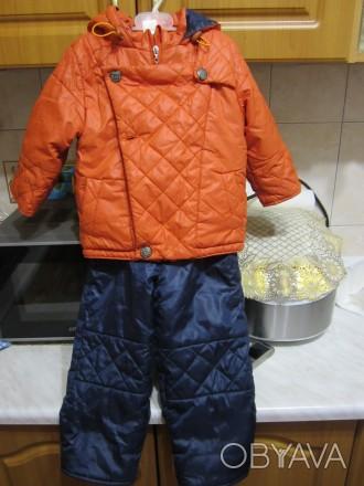 """ТМ """"Одягайко"""".Осенний комбинизон.Курточка на флисе.Штаны плащёвка.Курточка очень. Житомир, Житомирская область. фото 1"""