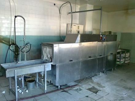 Тоннельная посудомоечная, котломоечная машина.. Киев. фото 1