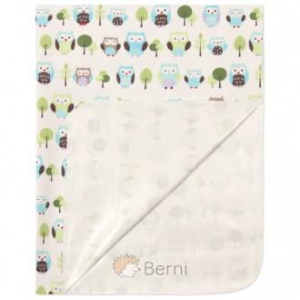 Пеленка непромокаемая для новорожденных Berni 120x78, 115x78. Днепр. фото 1