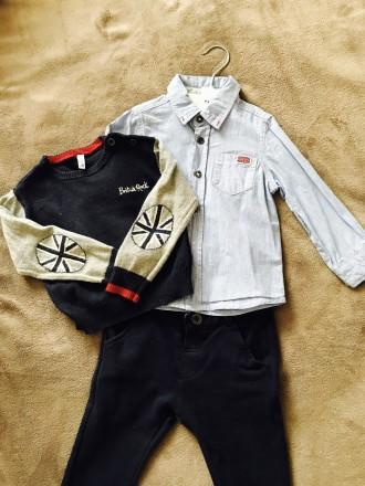 Комплект рубашки , кофточки і штанішки. Ужгород. фото 1