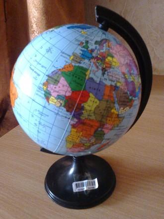 Глобус настольный, 110 см диаметр, новый. Киев. фото 1