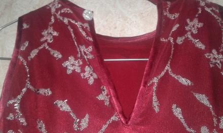СКИДКА - при заказе нескольких товаров!  Атласное платье красного цвета, верх . Киев, Киевская область. фото 11