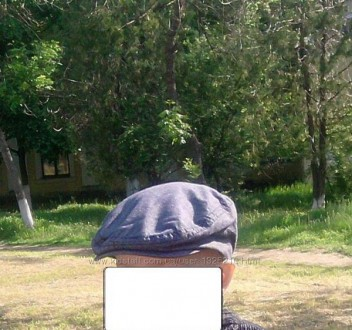 Классная джинсовая кепка мальчику 9-12 мес. Снигиревка. фото 1