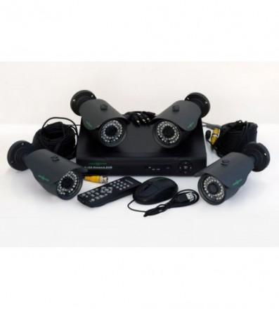Комплект Видеонаблюдения GreenVision GV-K-M 6304DP-CM01. Ивано-Франковск. фото 1