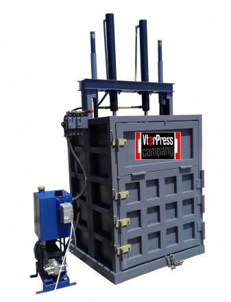Пресс гидравлический для макулатуры, ПЭТ-бутылки усилдтие 16 тонн. Александрия. фото 1