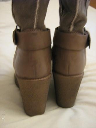 Продам сапоги Ulanka Испания, верх натуральная кожа+замша, каблук 8,5 см, длина . Запорожье, Запорожская область. фото 9