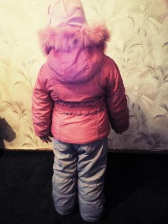 Продам зимний комбинизон с курточкой для девочки в очень хорошем состоянии.Возра. Чернігів, Чернігівська область. фото 7