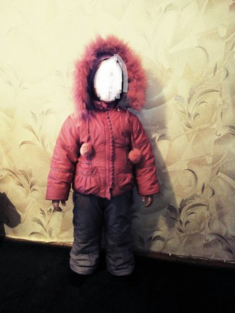 Продам зимний комбинизон с курточкой для девочки в очень хорошем состоянии.Возра. Чернигов, Черниговская область. фото 5