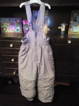 Продам зимний комбинизон с курточкой для девочки в очень хорошем состоянии.Возра. Чернигов, Черниговская область. фото 4