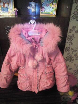 Продам зимний комбинизон с курточкой для девочки в очень хорошем состоянии.Возра. Чернігів, Чернігівська область. фото 3