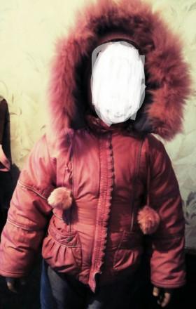 Продам зимний комбинизон с курточкой для девочки в очень хорошем состоянии.Возра. Чернігів, Чернігівська область. фото 6