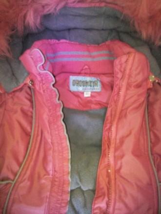 Продам зимний комбинизон с курточкой для девочки в очень хорошем состоянии.Возра. Чернигов, Черниговская область. фото 8