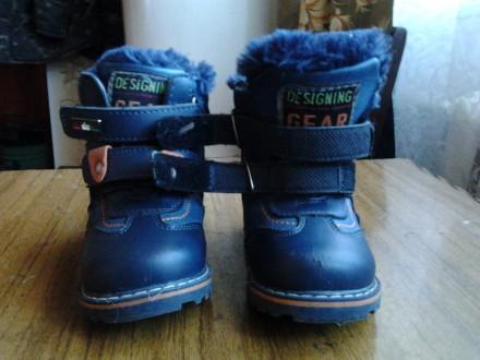 Зимнии  ботинки. Ромны. фото 1