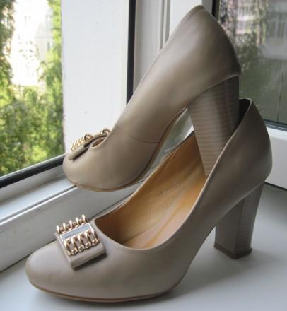 Туфли женские размер 39 (указан на подошве) Производство GIRNAIVE, Китай Мате. Харьков, Харьковская область. фото 3