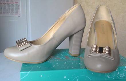 Туфли женские размер 39 (указан на подошве) Производство GIRNAIVE, Китай Мате. Харьков, Харьковская область. фото 2