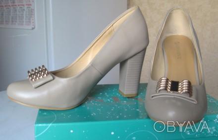 Туфли женские размер 39 (указан на подошве) Производство GIRNAIVE, Китай Мате. Харьков, Харьковская область. фото 1
