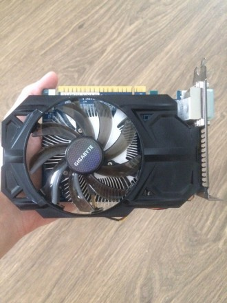 Видеокарта NVidia GeForce GTX 750 Ti 1Гб. Одесса. фото 1