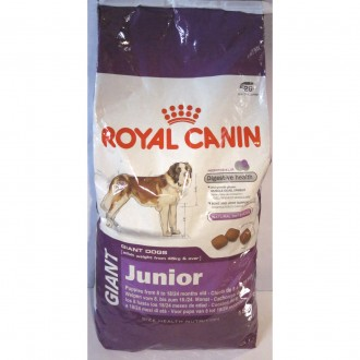 Giant Junior Royal Canin Гигант Джуниор (для юниоров) Роял Канин 15 кг. Киев. фото 1