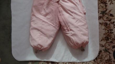 Розовый комбинезон, состав 80% пух, 20 % перо, очень тёплый и лёгкий, длинна от . Киев, Киевская область. фото 4
