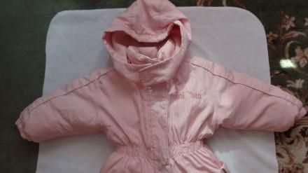 Розовый комбинезон, состав 80% пух, 20 % перо, очень тёплый и лёгкий, длинна от . Киев, Киевская область. фото 3