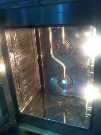 Пароконвектомат Unox XVC 704 серии ChefTop. 2007г.в., мало использовался, в отл. Киев, Киевская область. фото 5