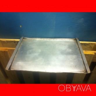 Противень гладкий 460х330х5мм для печей Unox серии XF/XFT, б/у