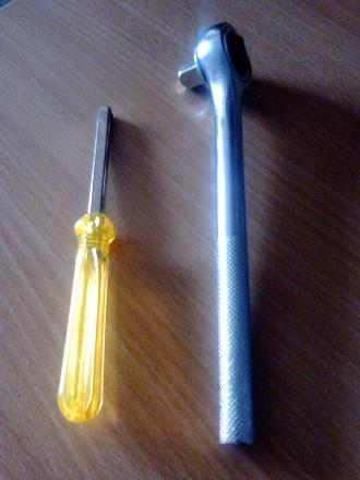 Набор инструментов: 40 предметов.  Размер: 31.5 см х 15 см х 4 см.  Отвечу н. Киев, Киевская область. фото 6