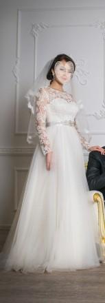 свадебное элегантное платье. Запорожье. фото 1