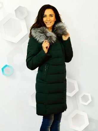 Куртка длинная Caroles 506. Черкаси. фото 1