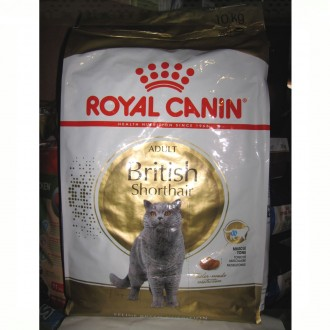 British Shorthair Adult Royal Canin Бритиш Эдалт Роял канин 10 кг. Киев. фото 1