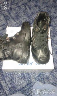Продам зимние ботинки на мальчика 4 - 6 лет. Днепр. фото 1